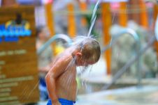 Free Boy In Water Park Royalty Free Stock Images - 3059669