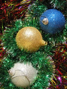 Free Christmas Balls Stock Photo - 3059860
