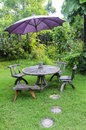 Free Seat In Garden Royalty Free Stock Photography - 30504537