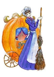 Free Cinderella With Carriage Stock Image - 30500661