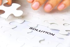 Free Solution Concept Stock Photo - 30502510