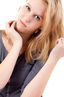 Free Beauty Portrait Of A Teen Royalty Free Stock Photo - 30502865