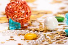 Free Celebratory Tinsel Stock Photo - 30507240