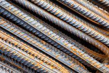 Free Steel Rebars Royalty Free Stock Images - 30507369