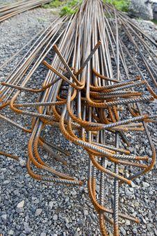 Free Steel Rebars Royalty Free Stock Images - 30507449