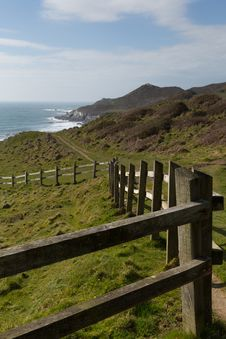 Free South West Coast Path Woolacombe Devon Royalty Free Stock Image - 30508586