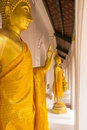 Free Golden Buddha Statues Royalty Free Stock Images - 30513919