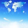 Free World Air Travel Destinations Royalty Free Stock Photo - 30518185