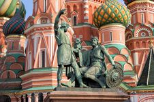 Free Monument To Minin And Pozharsky Stock Photos - 30514313