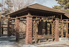 Free Wooden Pavilion Stock Photo - 30515300