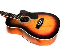 Free Acoustic Guitar Royalty Free Stock Photos - 30515688