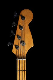 Free Bass Guitar Head Stock Photography - 30515692