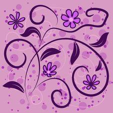Free Grunge Elegance Illustration With Flower Royalty Free Stock Photo - 30519865