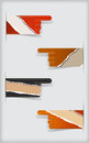 Free Set Of Colorful  Torn Blank Stickers. Stock Photo - 30524500