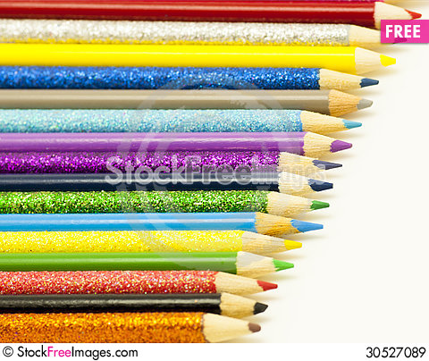 Free Time To Colour Royalty Free Stock Images - 30527089