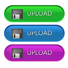 Free Upload Buttons Stock Photography - 30520142