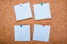 Free Blank Notes Stock Photography - 30522622