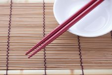 Free Chopsticks Royalty Free Stock Image - 30527676