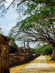 Free Around Pagoda Royalty Free Stock Image - 30528396
