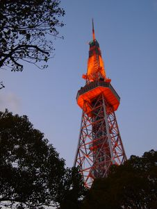 Free Nagoya TV Tower 2 Royalty Free Stock Images - 30528429
