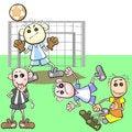 Free Unfair Football Play Stock Photo - 30535500