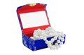 Free Small Casket With  Pearls Royalty Free Stock Photography - 30537277
