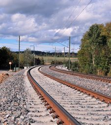Free Rail Under Construction Royalty Free Stock Photography - 30530327