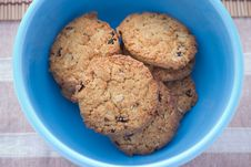 Cookies In A Cup Royalty Free Stock Photography