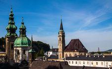 Free Salzburg Roofs Stock Photo - 30533620