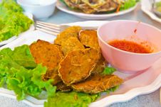 Free Spicy Fried Fish Ball Stock Photo - 30535750