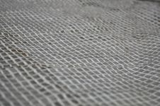 Free Light Wicker Grille On A Gray Background. Royalty Free Stock Image - 30535936