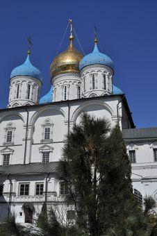 Free Novospassky Monastery In Moscow. Stock Photos - 30536773