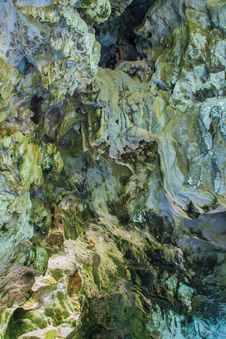 Free Rock Formation Inside A Cave Stock Photos - 30537853