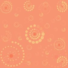 Pattern From Spirals Royalty Free Stock Photo