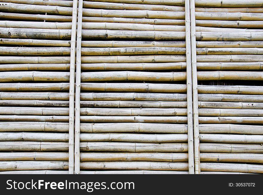 Dry bamboo