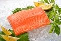 Free Fresh Salmon Royalty Free Stock Photos - 30544748