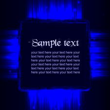 Free Blue  Shiny Template Royalty Free Stock Photos - 30540998