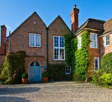 Free English Village Cottage Royalty Free Stock Image - 30541266