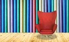 Free Red Chair Royalty Free Stock Image - 30545516