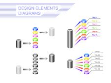 Free Design Elements. Diagrams Stock Image - 30548581