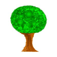 Free Abstract Tree Royalty Free Stock Photography - 30548637