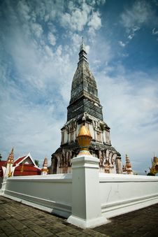 Free Old Pagoda In Buddhism Stock Photography - 30549212
