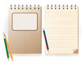 Free Notebook And Pencil Royalty Free Stock Image - 30555746