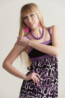Free Blonde - A Model Stock Photo - 30550080