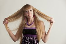 Free Blonde - A Model Royalty Free Stock Photo - 30550105
