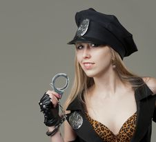 Free Sexy Cop Royalty Free Stock Images - 30550329