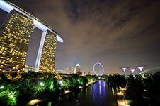 Free Singapore Cityscape Stock Images - 30551954