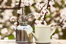 Free Small Sprayer And Watering Can Stock Photo - 30553030