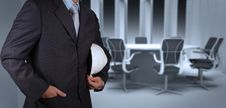 Free Engineer Businessman Success Working With His Boar Royalty Free Stock Images - 30557899