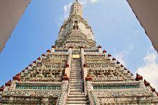 Free Wat Arun Temple Royalty Free Stock Image - 30558836